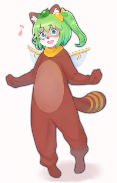 狸衣装の大妖精