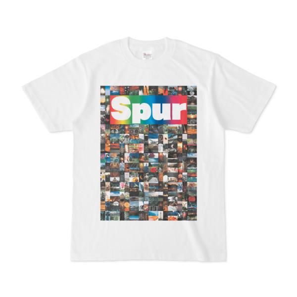 シンプルデザインTシャツ NC8.Spur_232(RAINBOW)