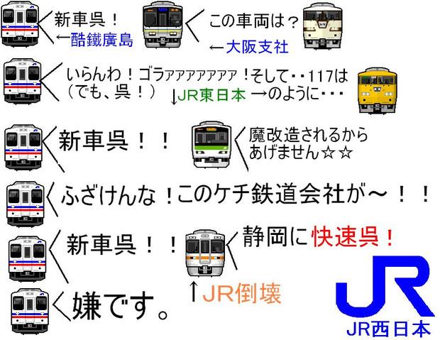 国鉄廣嶋 新車呉!!
