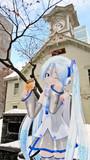 【ミクさんと】札幌市時計台【北海道】