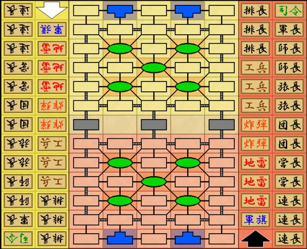 【軍人将棋】軍棋(爆発地雷)type 2【対局】