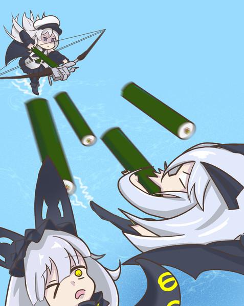 襲撃、恵方巻矢