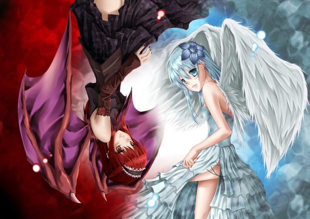 天使と悪魔 霜月汐 さんのイラスト ニコニコ静画 イラスト