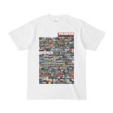 シンプルデザインTシャツ TANKER_on300(BROWN)