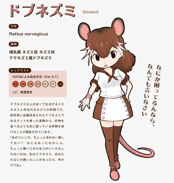 【子年オリフレS】ドブネズミ【リライト・オリフレ】