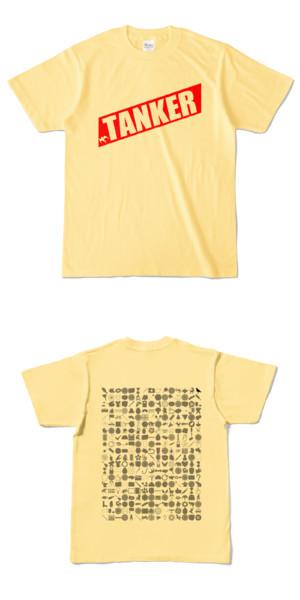 Tシャツ ライトイエロー 燕TANKER