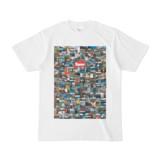シンプルデザインTシャツ 276-Spur(CRIMSON)
