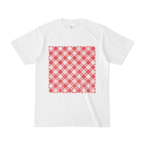 シンプルデザインTシャツ Othello(CRIMSON)