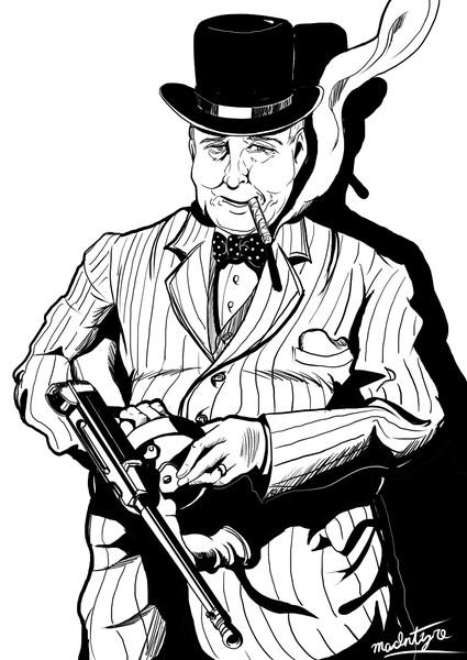 【再掲】大英帝国首相ウィンストン・レナード・スペンサー=チャーチルおじさん