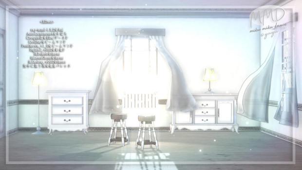 【配布】カーテンのある部屋Vr05