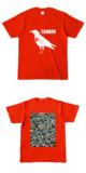 Tシャツ レッド CROW★TANKER
