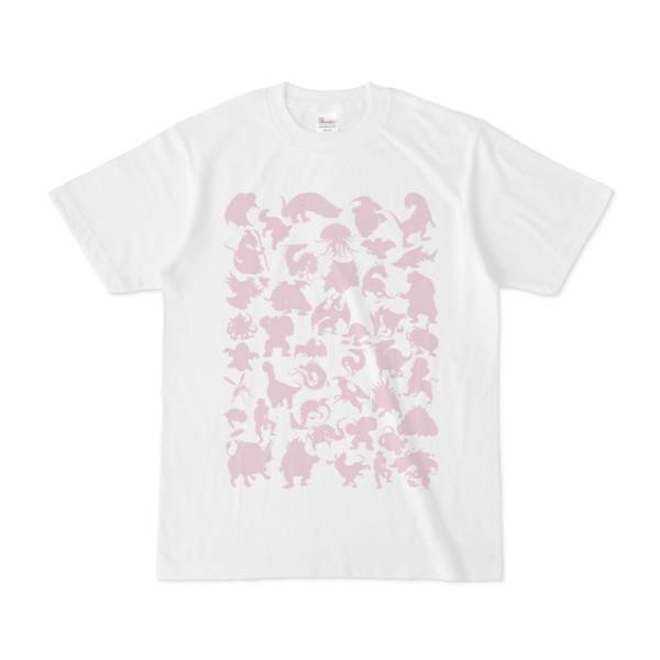 シンプルデザインTシャツ MONSTER☆43MAP(THISTLE)