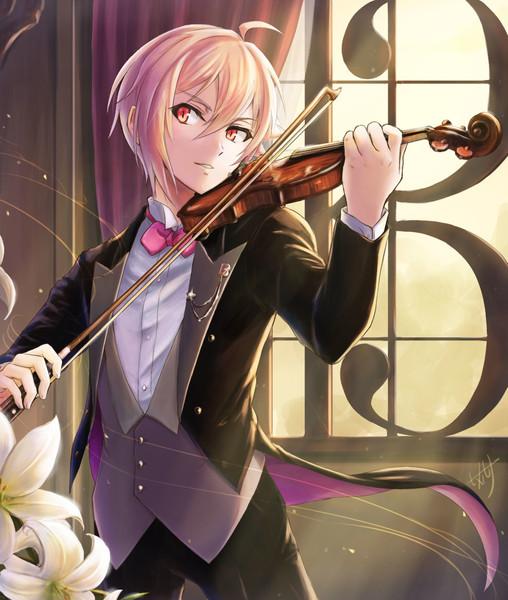 ヴァイオリンを弾く天使
