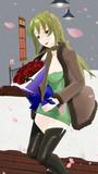 「お大事に」お見舞いに来てくれた 玲霞さん 【Fate/MMD】