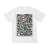 シンプルデザインTシャツ 276-Spur(CHOCOLATE)