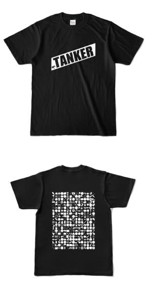 Tシャツ ブラック 燕TANKER