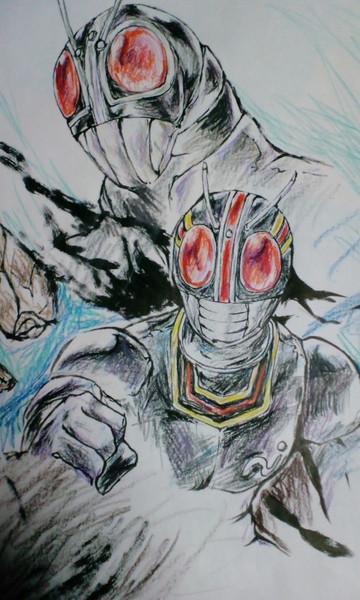 仮面ライダーブラックとRXをうろ覚えで