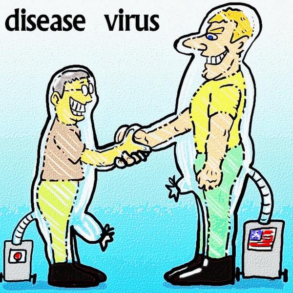 ウイルス防護スーツ