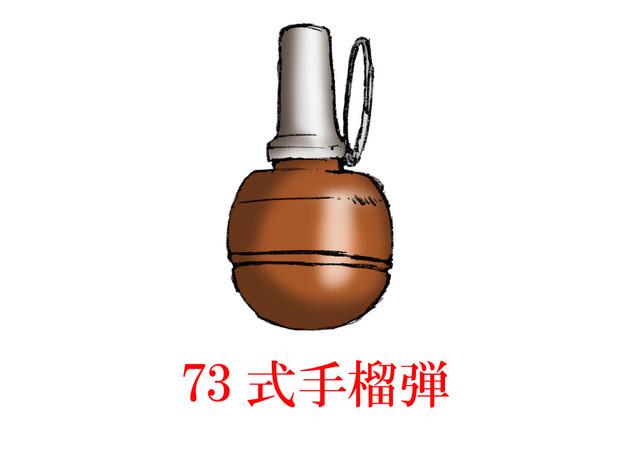 中国的手榴弾・その9 「73式手榴弾」