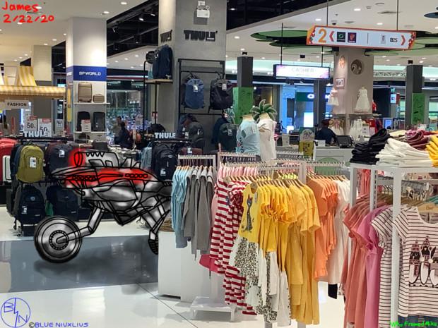 Machine Biker In Scanned Marketing Their Product