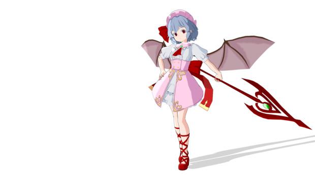 (魔王嬢)レミリア・スカーレット【MMDモデル】