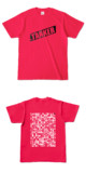 Tシャツ ホットピンク 燕TANKER