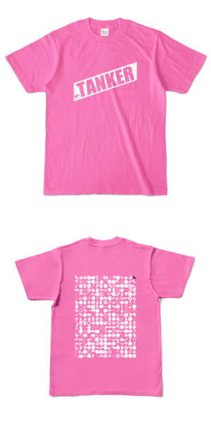 Tシャツ ピンク 燕TANKER