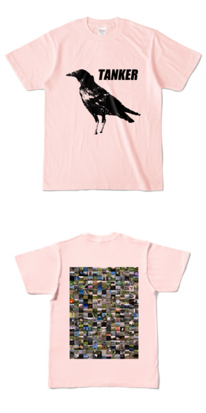 Tシャツ ライトピンク CROW★TANKER
