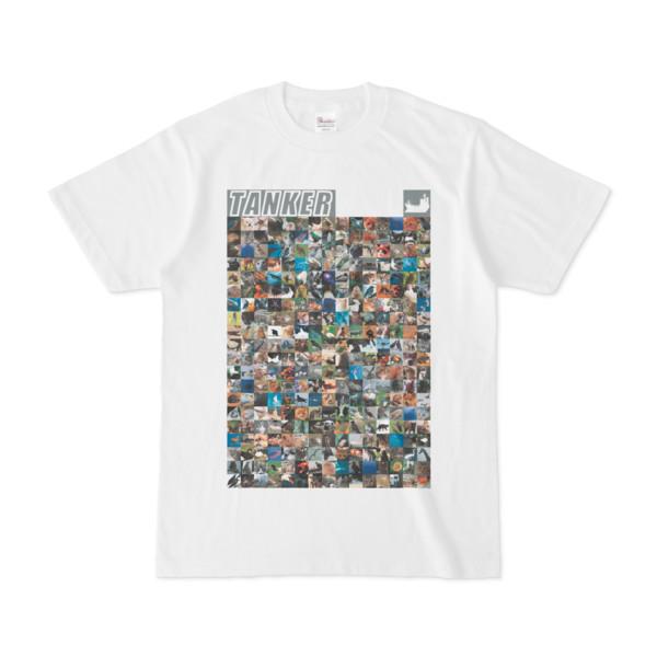 シンプルデザインTシャツ ANIMAL☆TANKER(GRAY)
