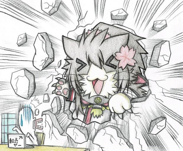転売ヤーを襲撃する大和猫