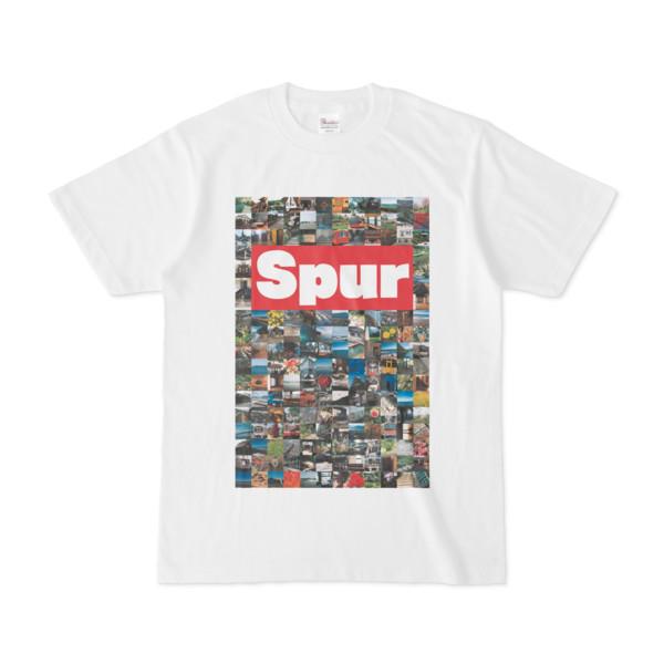 シンプルデザインTシャツ Spur/176_A(CRIMSON)