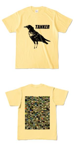 Tシャツ ライトイエロー CROW★TANKER