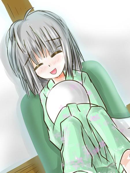 ツイッター落書きおやすみの妖夢