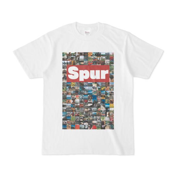 シンプルデザインTシャツ Spur/176_A(BROWN)