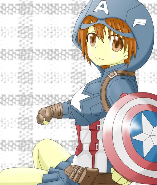 キャプテンアメリカ きゃぷ子ちゃん
