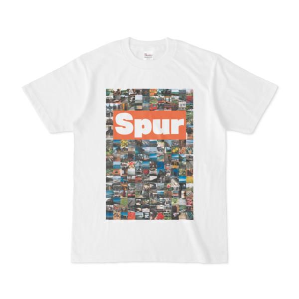 シンプルデザインTシャツ Spur/176_A(CHOCOLATE)