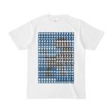 シンプルデザインTシャツ MONSTER-REX41(NAVY)
