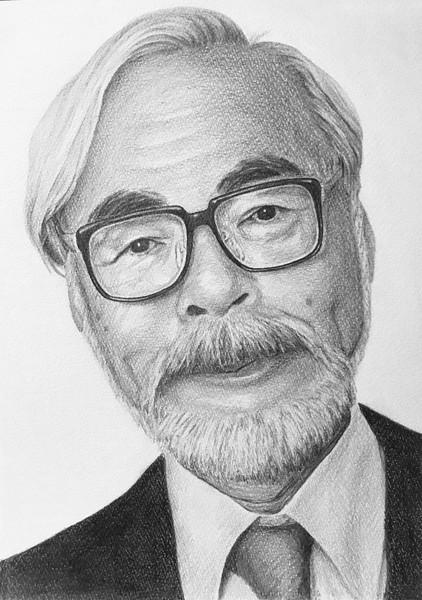 宮崎駿監督 鉛筆画