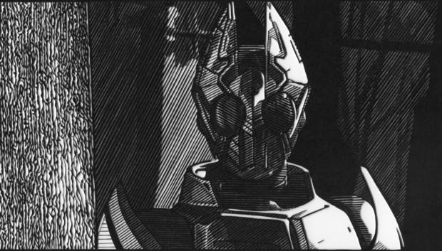 【切り絵】仮面ライダーギャレン
