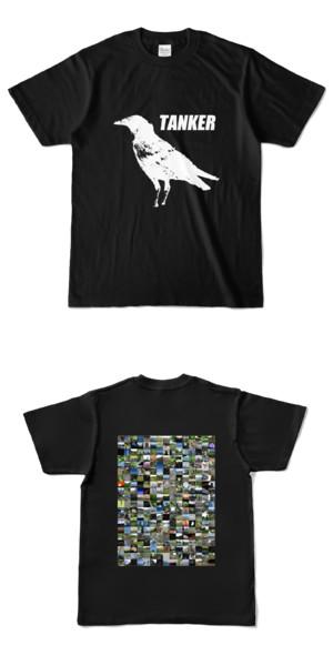 Tシャツ ブラック CROW★TANKER