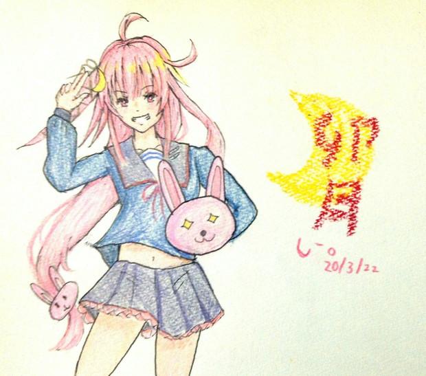卯月さんとお絵描き練習3