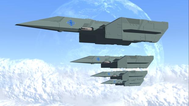 グバラス帝国軍機動戦闘機