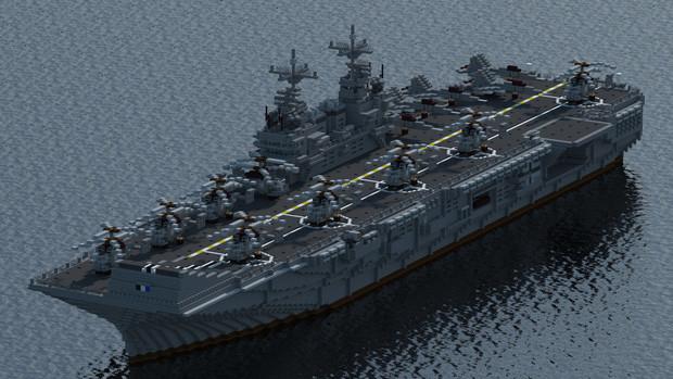 RON LHA-901 【清輝級強襲揚陸艦】