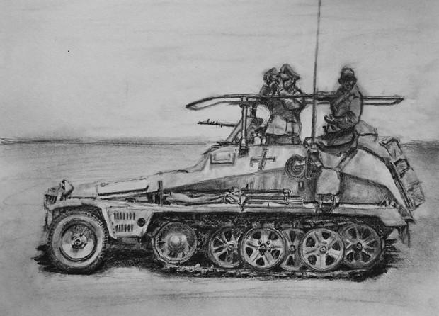 sd.kfz.250 3 GREIF