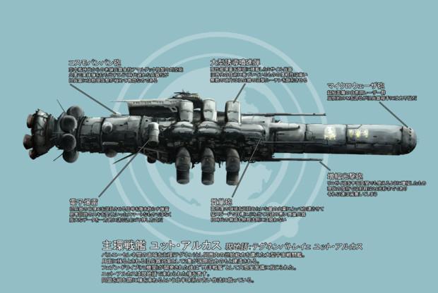 主環戦艦 ユット・アルカス