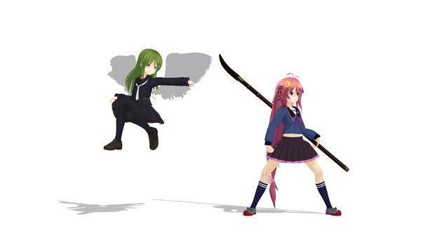 ウヅキメッシュとナガツキドゥ