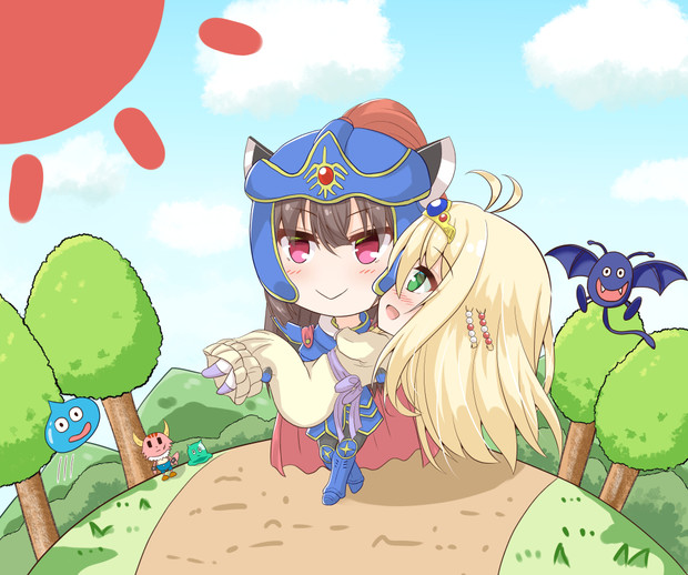 マキ姫を助け出す勇者きりたん(前)