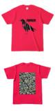 Tシャツ ホットピンク CROW★TANKER