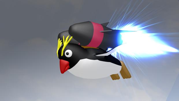 飛行ペンギン