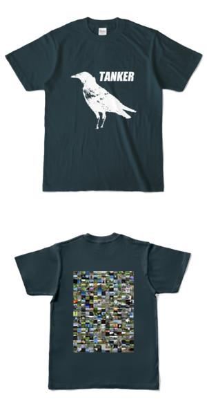 Tシャツ デニム CROW★TANKER